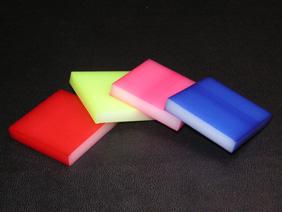 プラスチック/樹脂 染色加工
