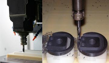 プラスチックのマシニング切削加工